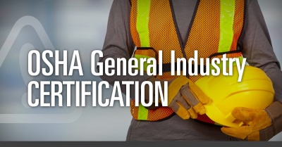 2-day OSHA General Industry Certification - Bud Moore, OSHA/Alliance Safety Solutions